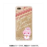 カワウソちぃたん グリッターケース iPhone X Star Gold CUTE [キャラクターグッズ]