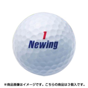 NCWX ニューイング スーパーソフトフィール ホワイト 3P [ゴルフボール 1スリーブ3球入り]