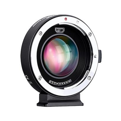 CM-AEF-MFT Booster [フォーカルレデューサーマウントアダプター レンズ側:キヤノンEF ボディ側:マイクロフォーサーズ 電子接点付き]