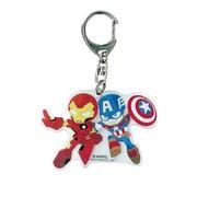 SPKC1151 MARVEL Captain America&Iron Man アクリルキーホルダー [キャラクターグッズ]