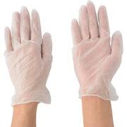 2023-M [ビニール使いきり手袋 粉なし Mサイズ 100枚入]