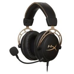 HX-HSCA-GD [NAP HyperX Cloud Alpha Gaming Headset Gold]