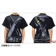 忍者Tシャツ 大人 黒 LL