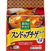 素材のチカラ スンドゥブチゲスープ 5食パック (7g×5食) 35g