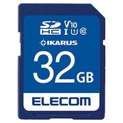 MF-FS032GU11IKA [SDHCカード セキュリティソフトIKARUS付 UHS-I U1 32GB]