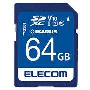 MF-FS064GU11IKA [SDXCカード セキュリティソフトIKARUS付 UHS-I U1 64GB]