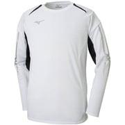 32JA853001 MCライン Tシャツ 長袖 ユニセックス ホワイト×ブラック Sサイズ