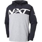 32JC856009 NXT スウェットシャツ ユニセックス ブラック×グレー杢 Lサイズ