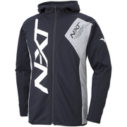32JC856109 NXT スウェットシャツ ユニセックス ブラック×グレー杢 XLサイズ