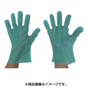 GEK-M [エンボス手袋五本絞り エコノミー化粧箱 M グリーン]