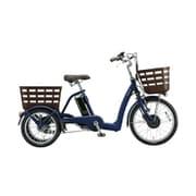 FW0B49 3P920B0 [電動アシスト自転車 フロンティア ラクットワゴン 前20型/後16型 内装3段変速 T.Xサファイヤブルー 2019年モデル]
