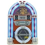 HNB-MX2500WH [CDコンポ ジュークボックス風ミュージックプレーヤー ホワイト]