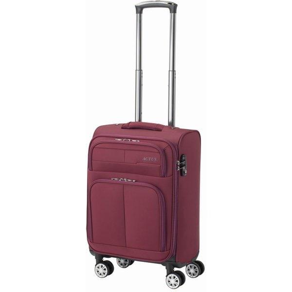 74-50773 [スーツケース モンタナ Mサイズ 旅行日数目安:1~2泊 29L TSAロック搭載 機内持ち込み可 ワインレッド]