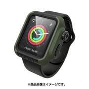 CT-IPAW1742-AG [Apple Watch 42mm シリーズ 2/3用 衝撃吸収ケース アーミーグリーンブラック]