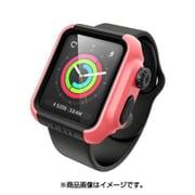 CT-IPAW1742-CB [Apple Watch 42mm シリーズ 2/3用 衝撃吸収ケース コーラルブラック]