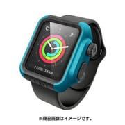 CT-IPAW1742-GB [Apple Watch 42mm シリーズ 2/3用 衝撃吸収ケース グレイシアブルーグレー]
