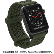 CT-SBAW1738-AG [Apple Watch 38mm シリーズ 1/2/3用 スポーツバンド アーミーグリーン]