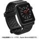 CT-SBAW1742-BK [Apple Watch 42mm シリーズ 1/2/3用 スポーツバンド ステルスブラック]