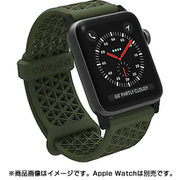 CT-SBAW1742-AG [Apple Watch 42mm シリーズ 1/2/3用 スポーツバンド アーミーグリーン]