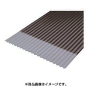 NIPC-605-BZ [軽量ポリカ波板 6尺 ブロンズ]