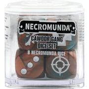 NECROMUNDA CAWDOR GANG DICE SET