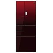 SJ-GX55E-R [プラズマクラスター冷蔵庫 (551L・フレンチドア) 6ドア グラデーションレッド]