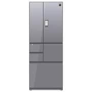 SJ-GX55E-S [プラズマクラスター冷蔵庫 (551L・フレンチドア) 6ドア エレガントシルバー]