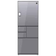 SJ-WX55E-S [プラズマクラスター冷蔵庫 (551L・どっちもドア) 5ドア エレガントシルバー]