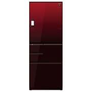SJ-WX50E-R [プラズマクラスター冷蔵庫 (502L・どっちもドア) 5ドア グラデーションレッド]