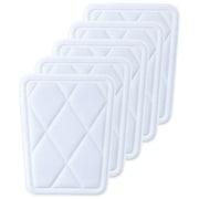 C023S 野球 スライディングパッドヒザ(小)5個セット [フリーサイズ Sホワイト]