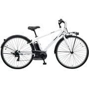 BE-ELVS77F [電動アシスト自転車 VELOSTAR(ベロスター) 700Cタイプ 700×38C 外装7段変速 8.0Ah クリスタルホワイト 2019年モデル]