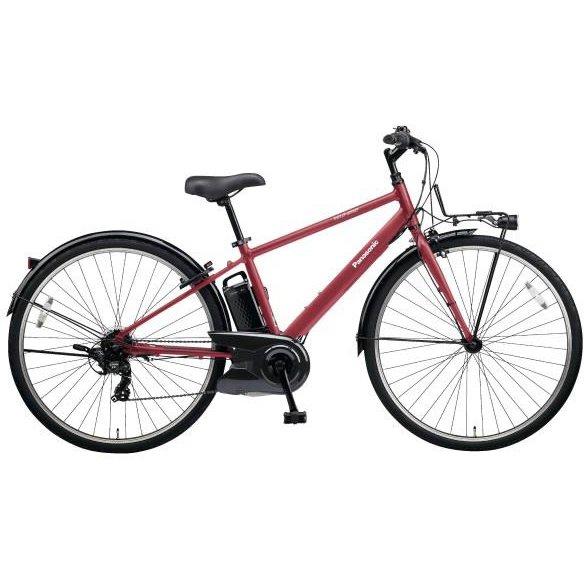 BE-ELVS77R [電動アシスト自転車 VELOSTAR(ベロスター) 700Cタイプ 700×38C 外装7段変速 8.0Ah ワインレッド 2019年モデル]