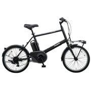 BE-ELVS07B [電動アシスト自転車 VELOSTAR・MINI(ベロスター・ミニ) 20型 外装7段変速 8.0Ah ミッドナイトブラック 2019年モデル]