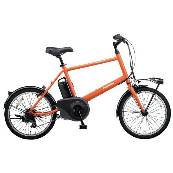 BE-ELVS07K [電動アシスト自転車 VELOSTAR・MINI(ベロスター・ミニ) 20型 外装7段変速 8.0Ah メタリックオレンジ 2019年モデル]