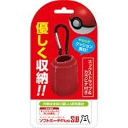 Nintendo Switch モンスターボール Plus用 ソフトポーチ Plus SW レッド