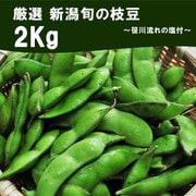 新潟枝豆 2kg 笹川流れ塩付