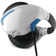 PSVR用 マイク付きバックバンドヘッドホン ホワイト×ブルー