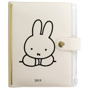 MF482A [miffy 家計簿付き手帳 A6 ホワイト]
