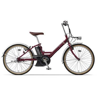 PA24CV [電動アシスト自転車 PAS CITY-V (パス シティ ブイ) 24インチ 12.3Ah 内装5段変速 ルビーレッド]