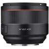 コンパクトで高性能。サムヤンのフルサイズ対応中望遠単焦点レンズ「SAMYANG AF 85mm F1.4 EF」