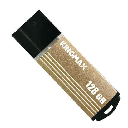 KM128GMA06YY [USB2.0メモリ 128GB キャップ式 ゴールド]