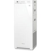 MCK55VY-W [加湿ストリーマ空気清浄機 スリムタワータイプ 加湿:14畳まで(プレハブ)/8.5畳まで(木造) 空気清浄:25畳まで オリジナルモデル ホワイト]
