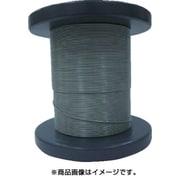 NSB063-080-50M [SUSワイヤロープ0.63/0.80mm 7×7 50m巻コート付]