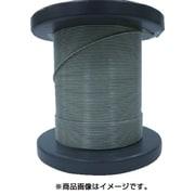 NSB081-100-50M [SUSワイヤロープ0.81/1.00mm 7×7 50m巻コート付]
