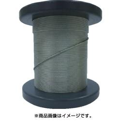 SB-100-50M [SUSワイヤロープ1.00mm 7×7 50m巻コート無]