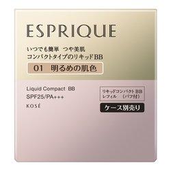 エスプリーク リキッドコンパクトBB レフィルのみ #001 明るめの肌色 [リキッドファンデーション]