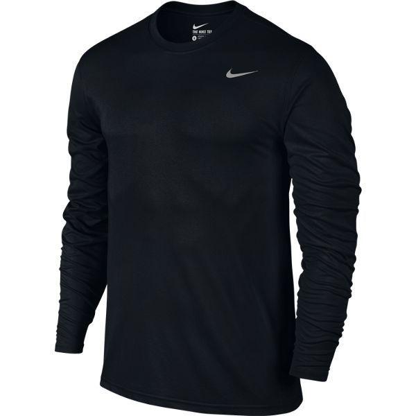 DRI-FIT レジェンド L/S Tシャツ 718838-010 XLサイズ [トレーニング シャツ メンズ]