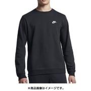 NJP-804343-010-M [スポーツウェア メンズ クルー クラブ フレンチテリー Mサイズ ブラック/ホワイト]
