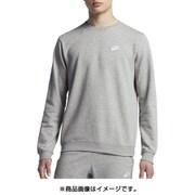 NJP-804343-063-L [スポーツウェア メンズ クルー クラブ フレンチテリー Lサイズ ダークグレーヘザー/ホワイト]