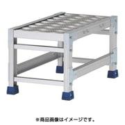 CSBC133WS [作業台(天板縞板タイプ)1段 天板寸法300×600mm 高0.3m]